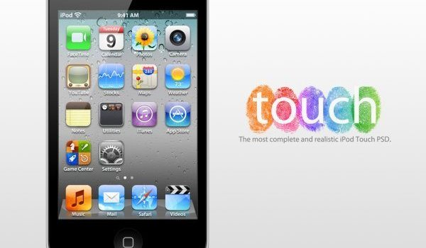 Apple iPod Touch 4G PSD