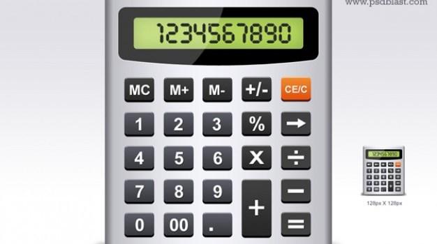 calculator icon psd