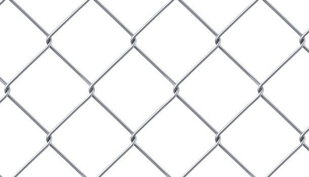 Chainlink fence texture