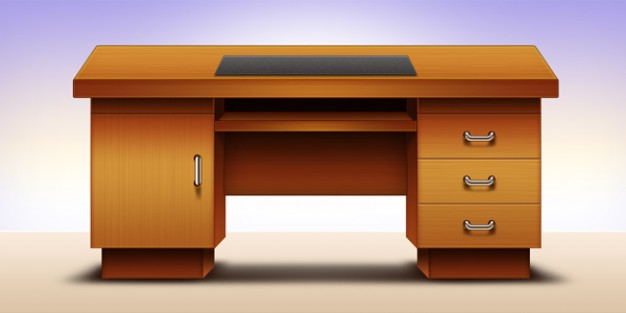 computer office table design  psd