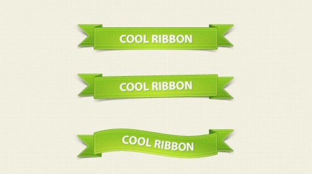 delicate ribbon psd layered material