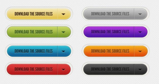 download source files buttons psd