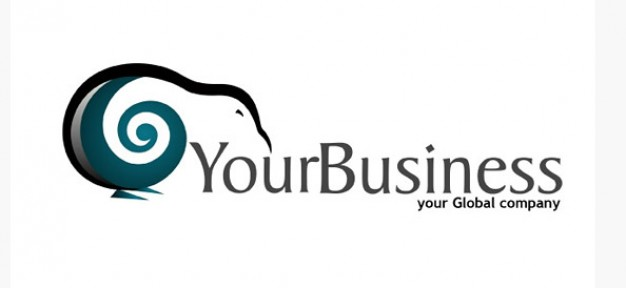free business logo vector design template with kiwi graphic