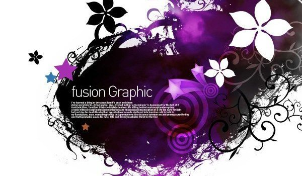 Fusion Graphic series of stylish patterns 03