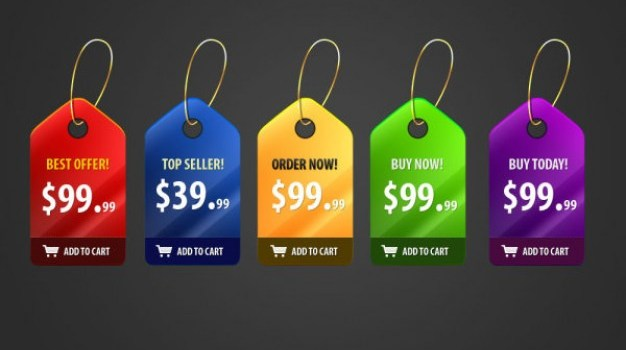gorgeous price tag   psd layered material