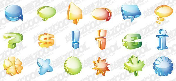 Graphics symbol theme very cool icon PSD