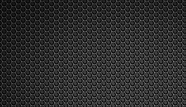 Honeycomb metal mesh background