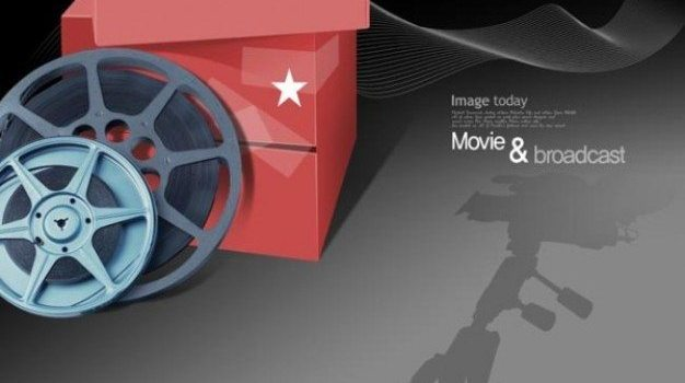 movie theme psd layered