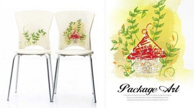 package art series graffiti printing and application of