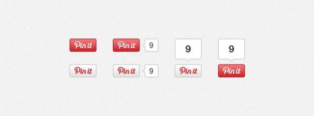 Pinterest Pin It Buttons