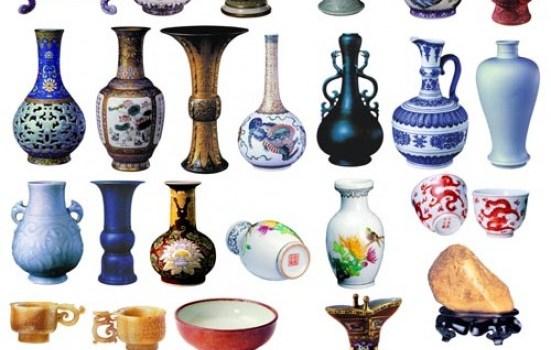 porcelain psd material set