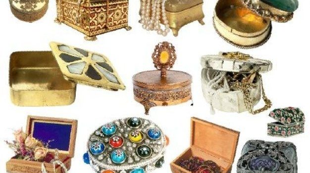 psd material of the jewelry box