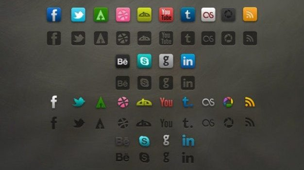 refined icons   psd layered material