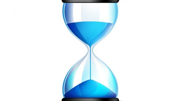 Sands of time, PSD hourglass icon