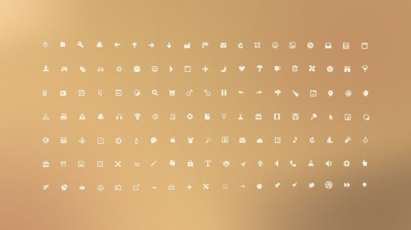 Small ui icons