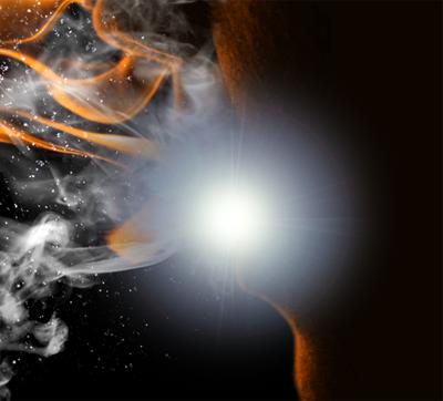 flam8e Create a Fiery Face Explosion
