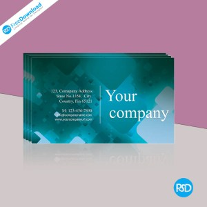 modern business card psd
