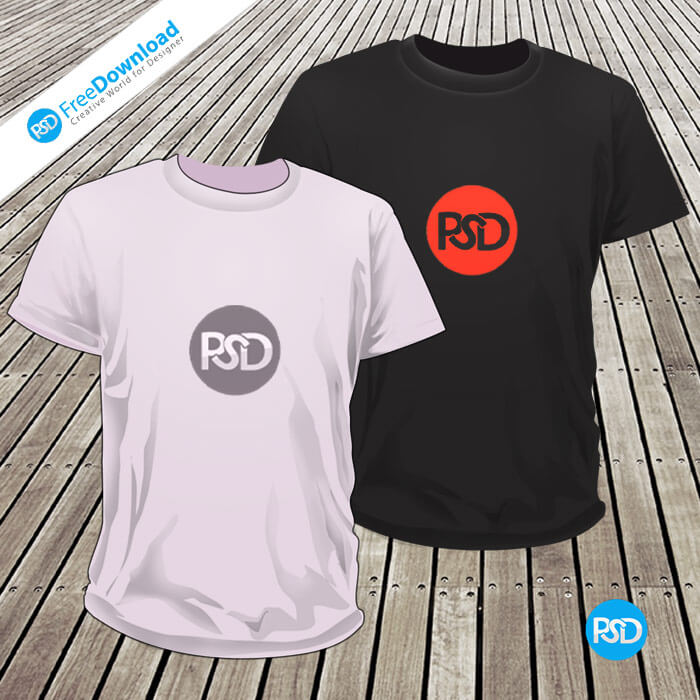 Free T-Shirts Mockup PSD Download, DownloadPSD, FreedownloadPSD, PSDFree, PSDFreeDownload, T-shirts psd, PSD T-shirts