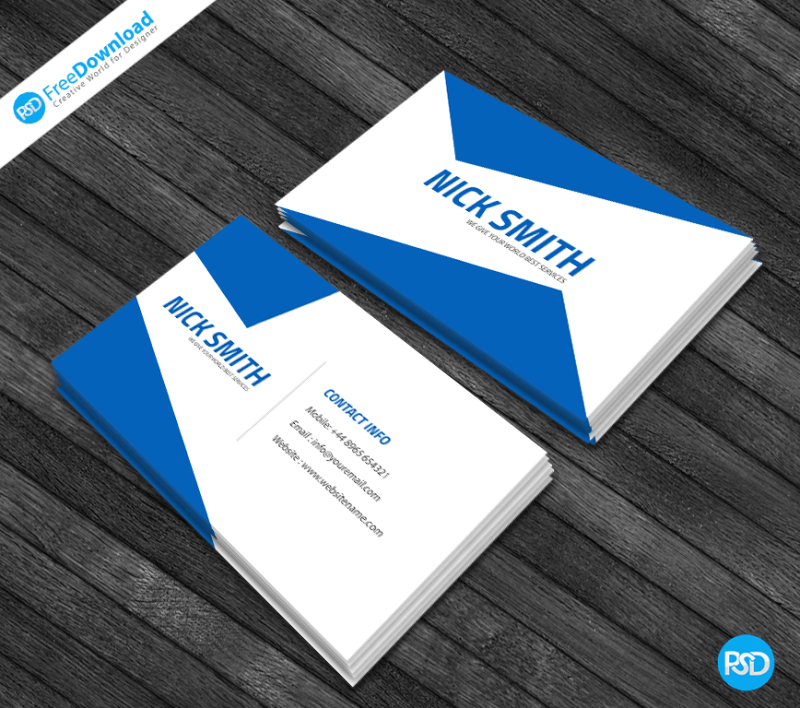 Corporate business card free template psd free download download free psd graphics and psd files cheaphphosting Choice Image