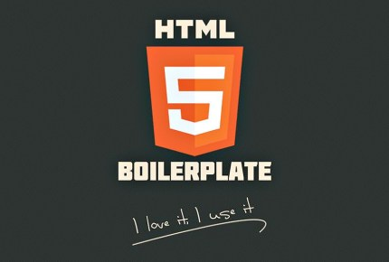 HTML5-boilerplate-Web Development Tool