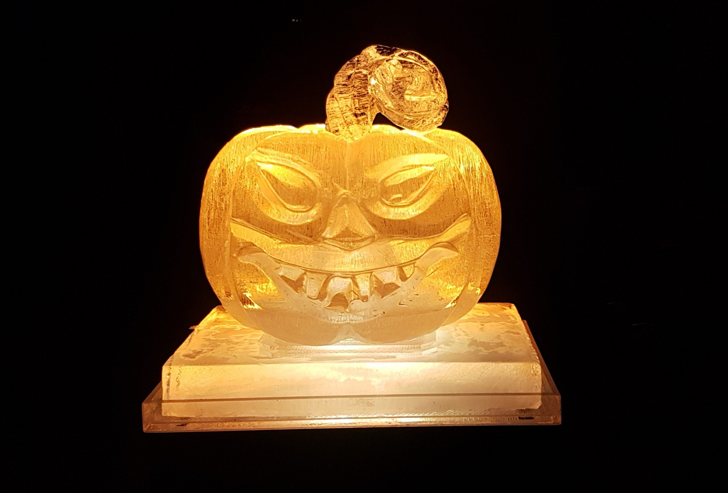 PSD Ice Art Petrifying Pumpkin