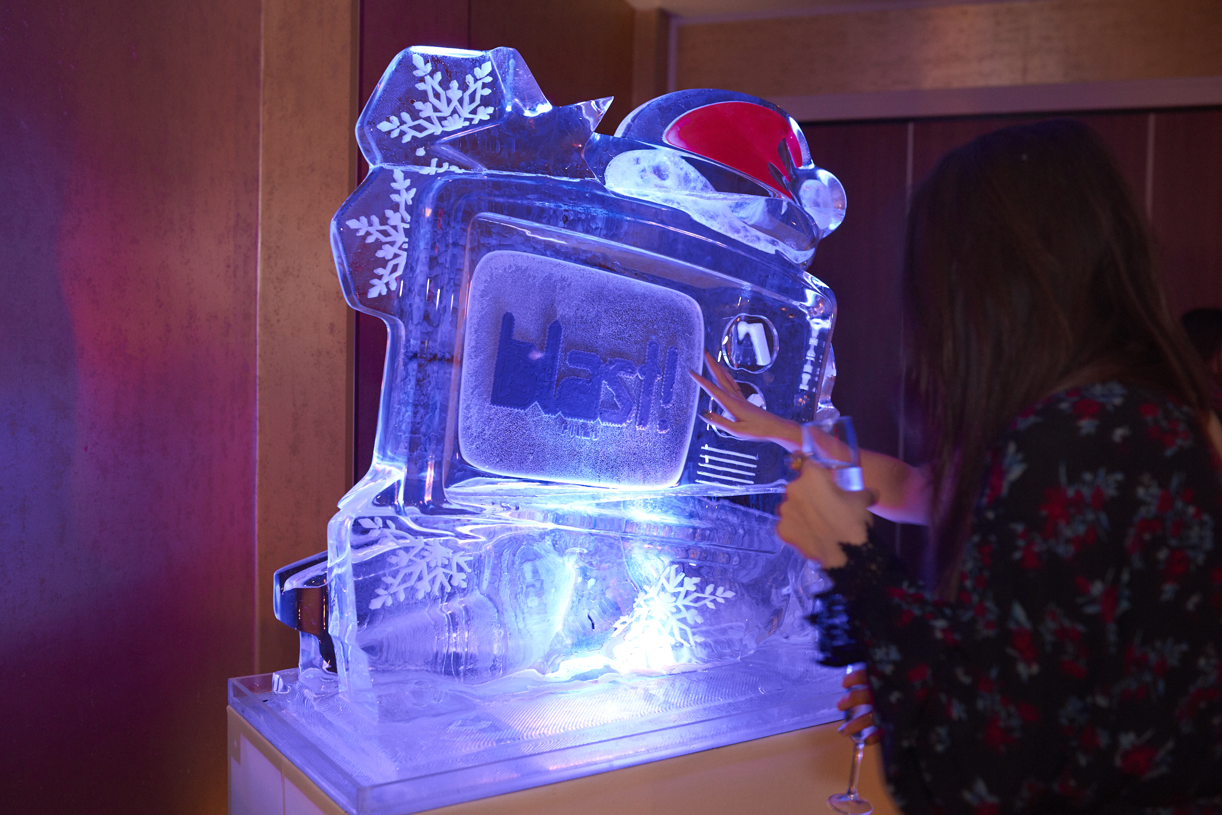 Blast! Films Party Ice Sculpture