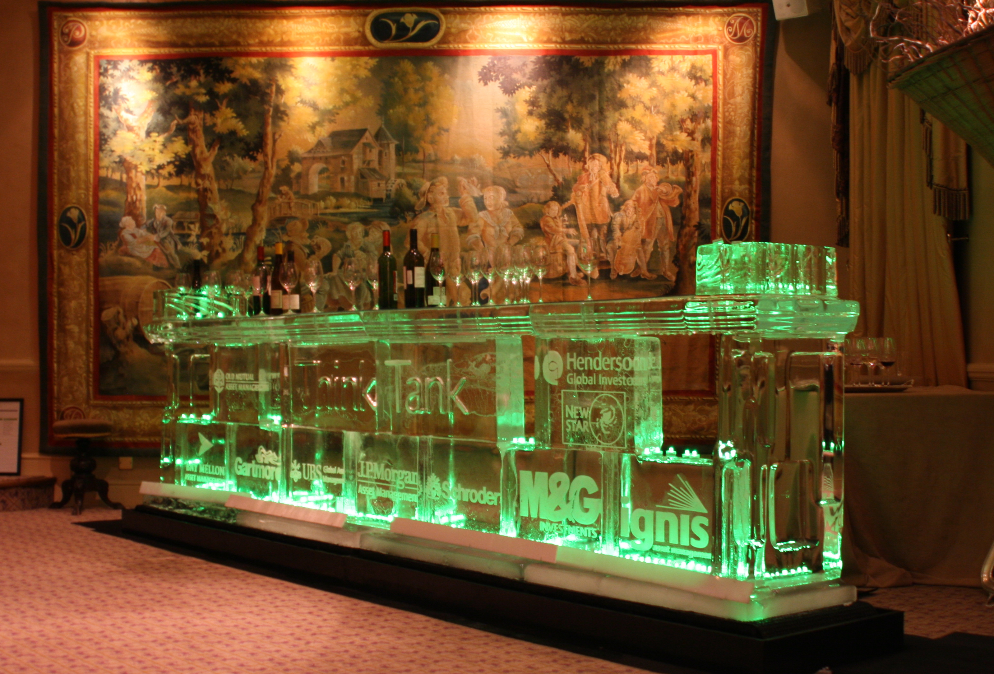 Financial Institutions Ice Bar