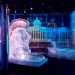 Belowzero Ice Bar London. New design 2018 'London Land by PSD Ice Art