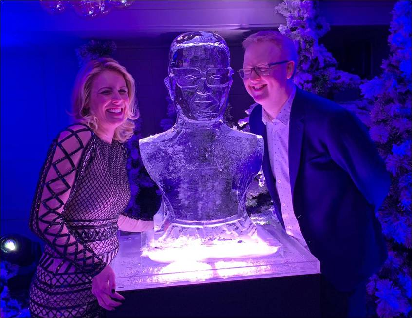 A LIKENESS IN ICE