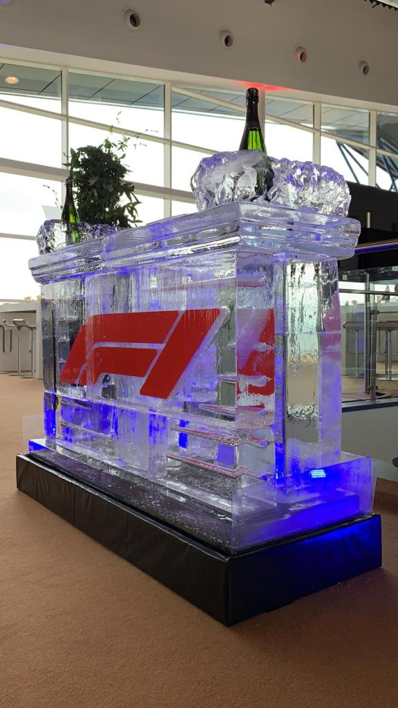paddock club 2019 f1 ice bar