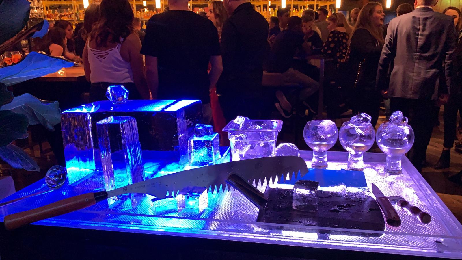 THE ALCHEMIST LIVE ICE CARVING