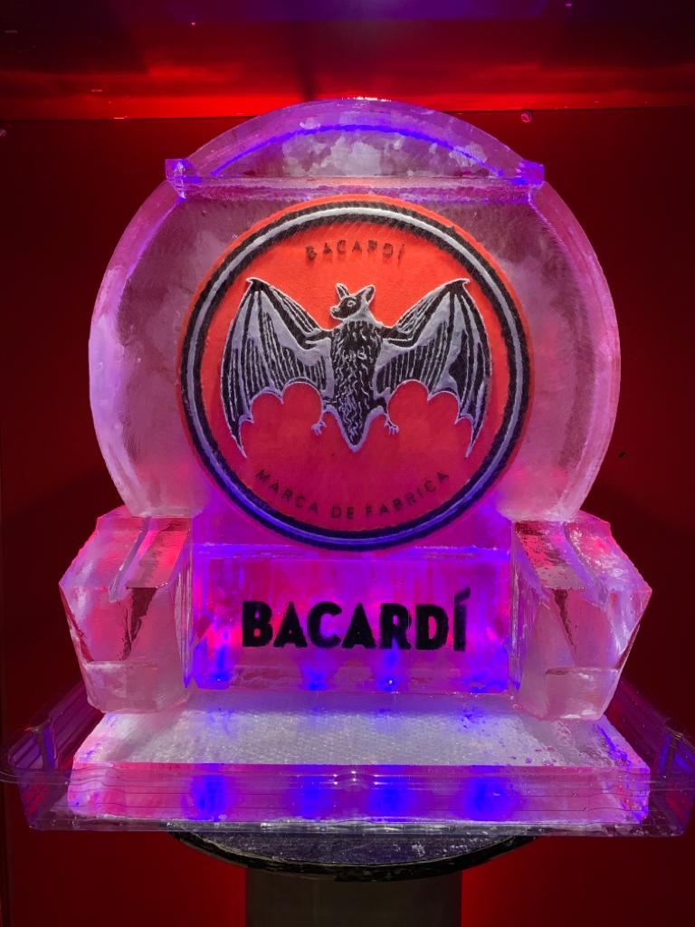 Bacardi colour logo double luge