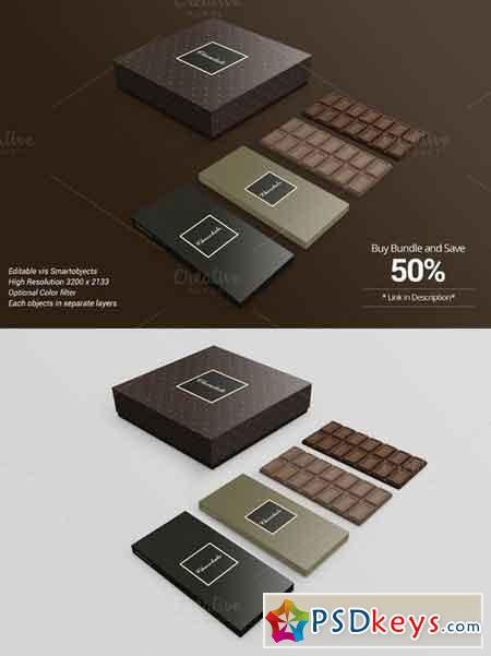 Download Package Box Mockup Chocolate version 714249 » Free ...