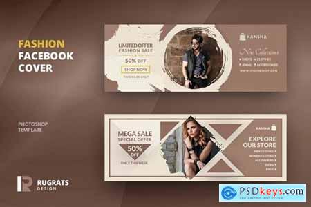 Creating the perfect facebook ad takes time. Fashion Facebook Cover Template Free Download Photoshop Vector Stock Image Via Torrent Zippyshare From Psdkeys Com