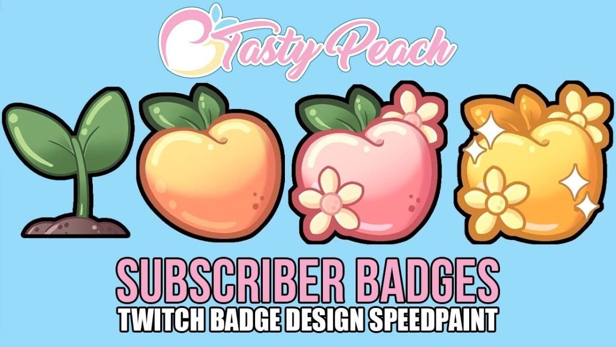 Peach twitch