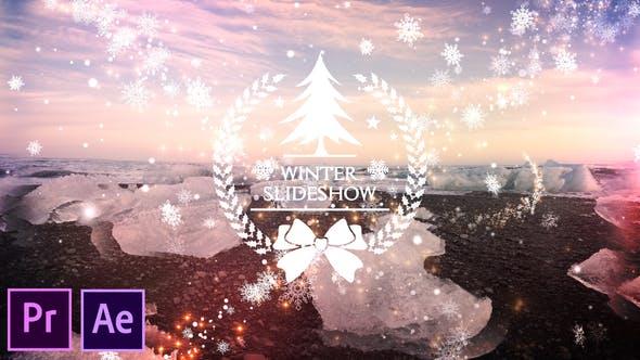 Videohive Winter Slideshow Premiere Pro 29180436