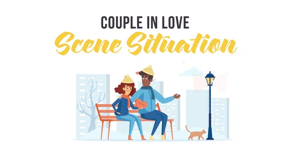 Videohive Couple in love Scene Situation 29246848