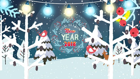 Videohive New Year's and Christmas Greetings 20982681