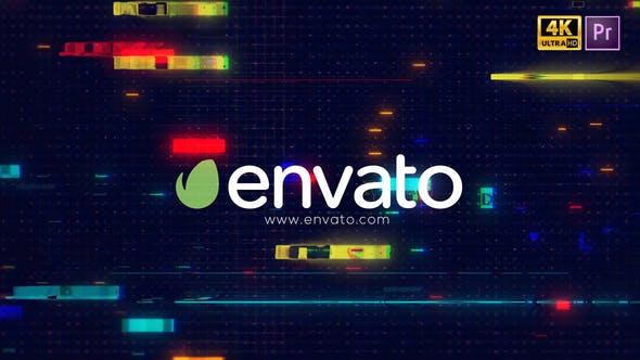 Videohive Glitch Logo Intro Pro 29219478