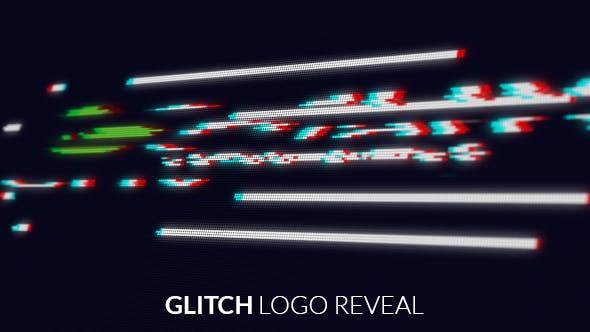Videohive Screen Glitch Logo Reveal 19220358