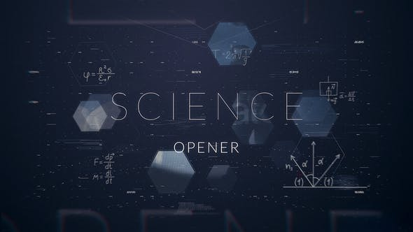 Videohive Science Opener | After Effects Template 23089165