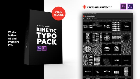 Videohive Kinetic Typography Pack 28757522