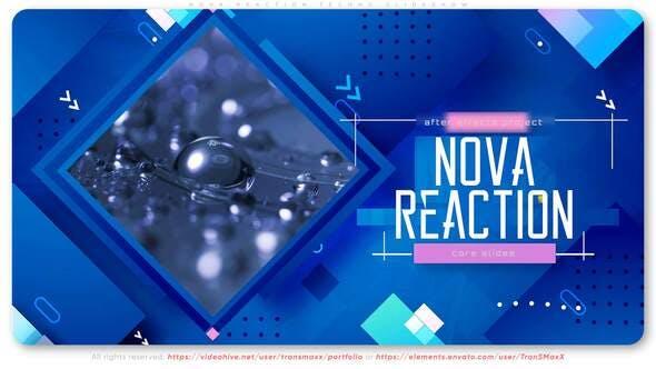 Videohive Nova Reaction Techno Slideshow 29421994