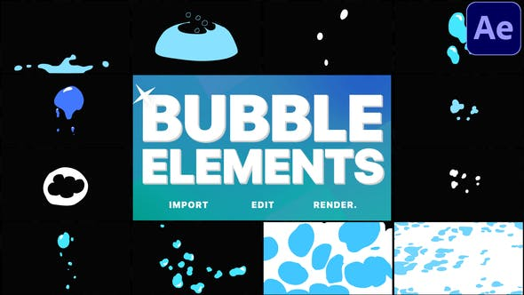 Videohive Bubble Elements After Effects 29340771