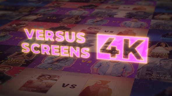Videohive VS Versus Screens v.2 4K 29329904