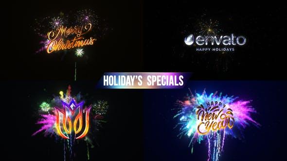 Videohive Fireworks & Explosion Logo 29168088