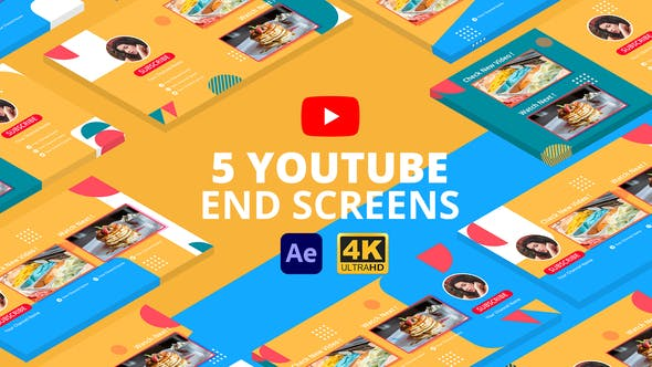 Videohive Youtube End Screens Vol.3   After Effects 29368356