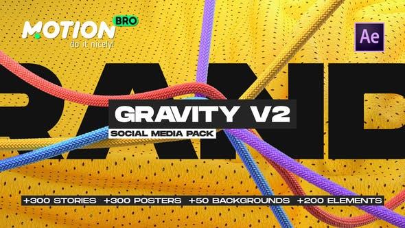 Videohive Gravity V2 Social Media Pack 28211128