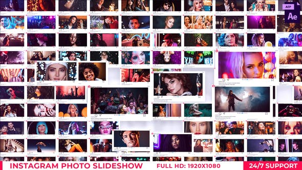 Videohive Instagram Photo Slideshow 28582376