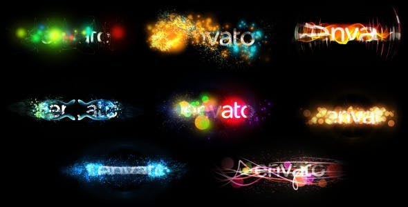 Videohive Holiday Particles (Title/Logo Pack) 9460638